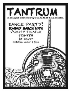 The Tantrum Series at The Varsity