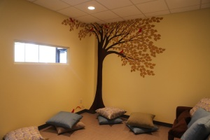 Our sweet childcare room at Blooma Minneapolis