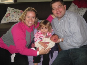 Family of 4 with sister Eleanor 2